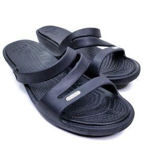 Crocs Patricia Wedge Sandals  EUC